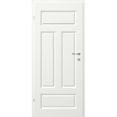 Skrzydło drzwiowe pełne MORANO I Białe 90 Lewe CLASSEN