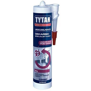 Uszczelniacz dekarski specjalistyczny Bezbarwny 310 ml TYTAN PROFESSIONAL