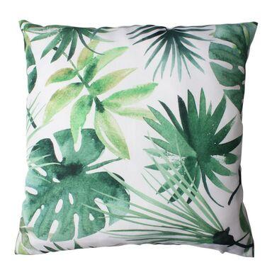 Poduszka w liście Kleome zielona 40 x 40 cm