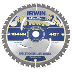 Tarcza do pilarki tarczowej 184MM/40T AR16  184 mm zęby: 40 szt. IRWIN WELDTEC
