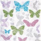 Serwetka SOFT BUTTERFLY 33 x 33 cm 20 szt.  PAW DECOR COLLECTION