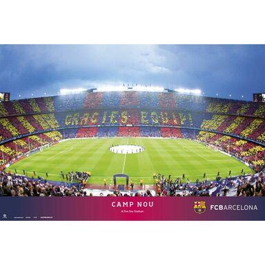 Plakat FC BARCELONA CAMP NOU 91.5 x 61 cm