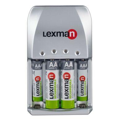 Ładowarka do akumulatorków LEXMAN