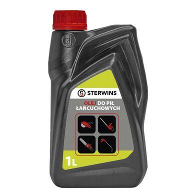 Olej do smarowania łańcuchów i prowadnic 1 l 25W60 STERWINS