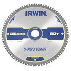 Tarcza do pilarki tarczowej 254MM/80T M/30  254 mm zęby: 80 szt. IRWIN CONSTRUCTION