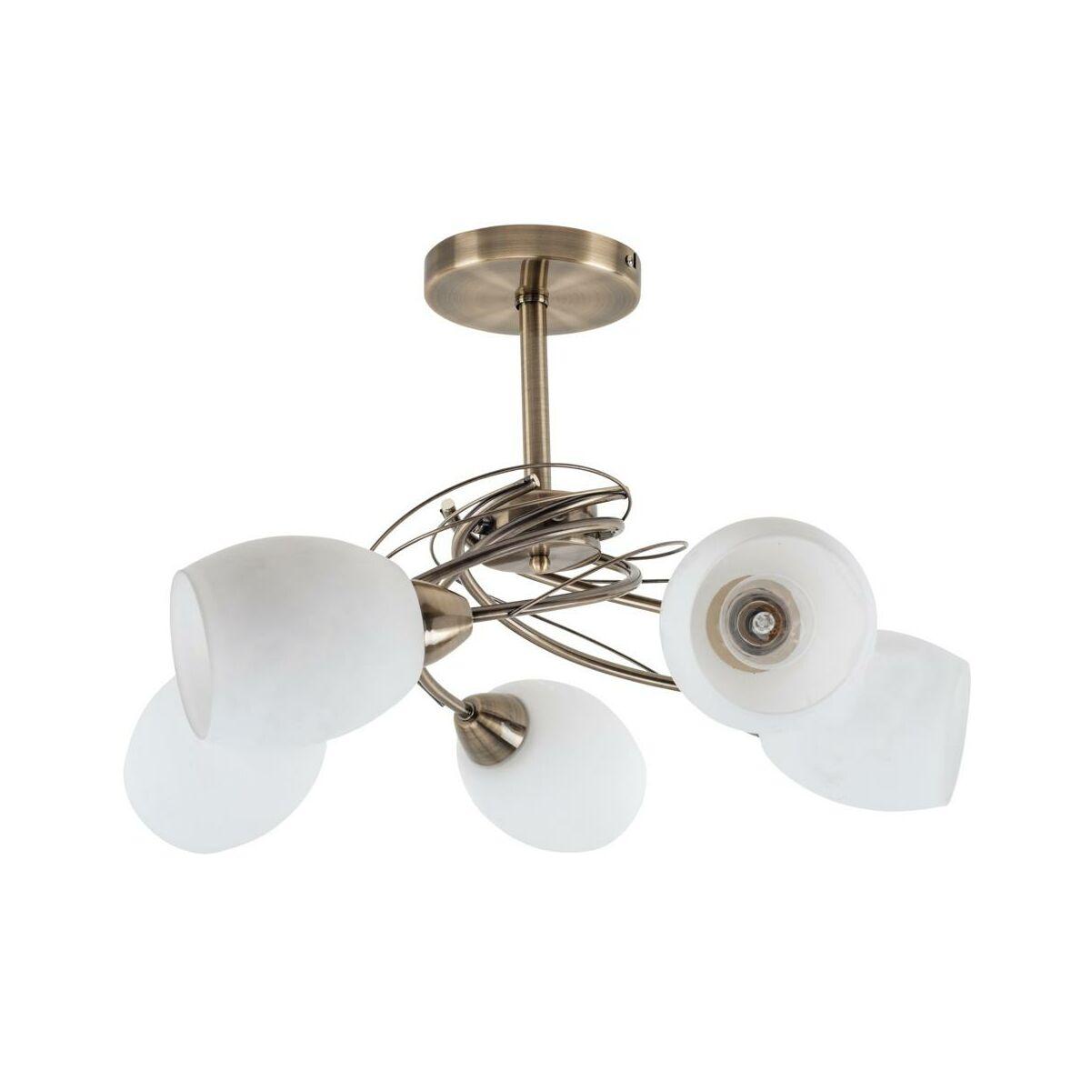 Zyrandol Pisa Patyna E27 Spot Light Zyrandole Lampy Wiszace I Sufitowe W Atrakcyjnej Cenie W Sklepach Leroy Merlin