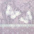 Serwetka BUTTERFLIES ON LINE 33 x 33 cm 20 szt.  PAW DECOR COLLECTION