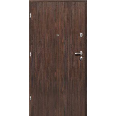 Drzwi wejściowe PREMIUM Orzech alpejski 80 Lewe LOXA