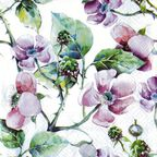 Serwetki PINK WILD ROSES 33 x 33 cm PAW DECOR