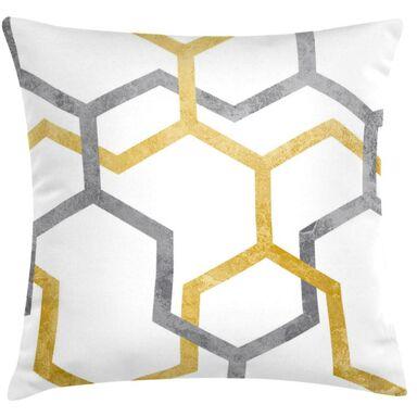Poduszka Rowan żółta 45 x 45 cm