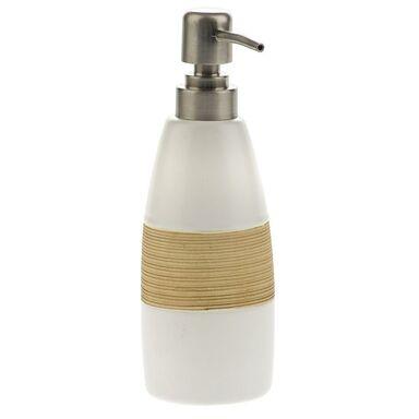 Dozownik mydła SABBIA kolor biały/beżowy AWD INTERIOR