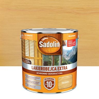 Lakierobejca do drewna Extra 2.5 l Dąb jasny Sadolin