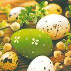 Serwetki wielkanocne Eggs Among Catkins 33 x 33 cm 20 szt.