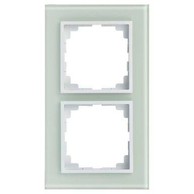 Ramka podwójna ASTORIA biały ELEKTRO-PLAST