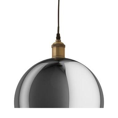 Lampa wisząca OPINA przydymione szkło E27 INSPIRE