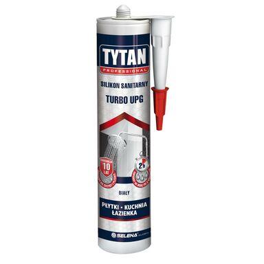 Silikon sanitarny Turbo UPG biały 280 ml Tytan