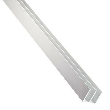 Eownik aluminiowy 1 m x 16 x 7 mm anodowany srebrny STANDERS