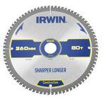 Tarcza do pilarki tarczowej 260MM/80T M/30 śr. 260 mm  80 z IRWIN CONSTRUCTION