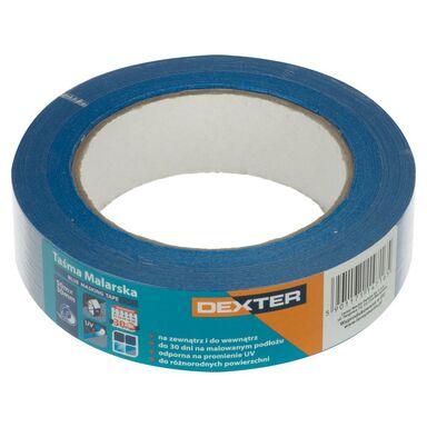 Taśma malarska BLUE MASKING TAPE 30 mm x 50 m DEXTER