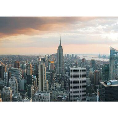 Fototapeta NEW YORK W CHMURACH 184 x 254 cm