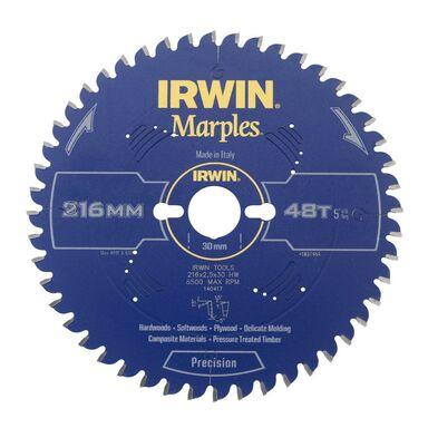 Tarcza do pilarki tarczowej 216MM/48T M/30  216 mm zęby: 48 szt. IRWIN MARPLES