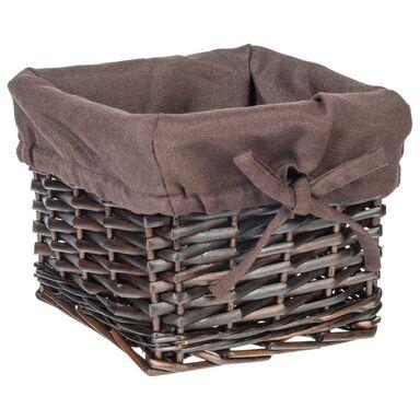 Koszyk na akcesoria łazienkowe WIKLINA dł.19 SEPIO