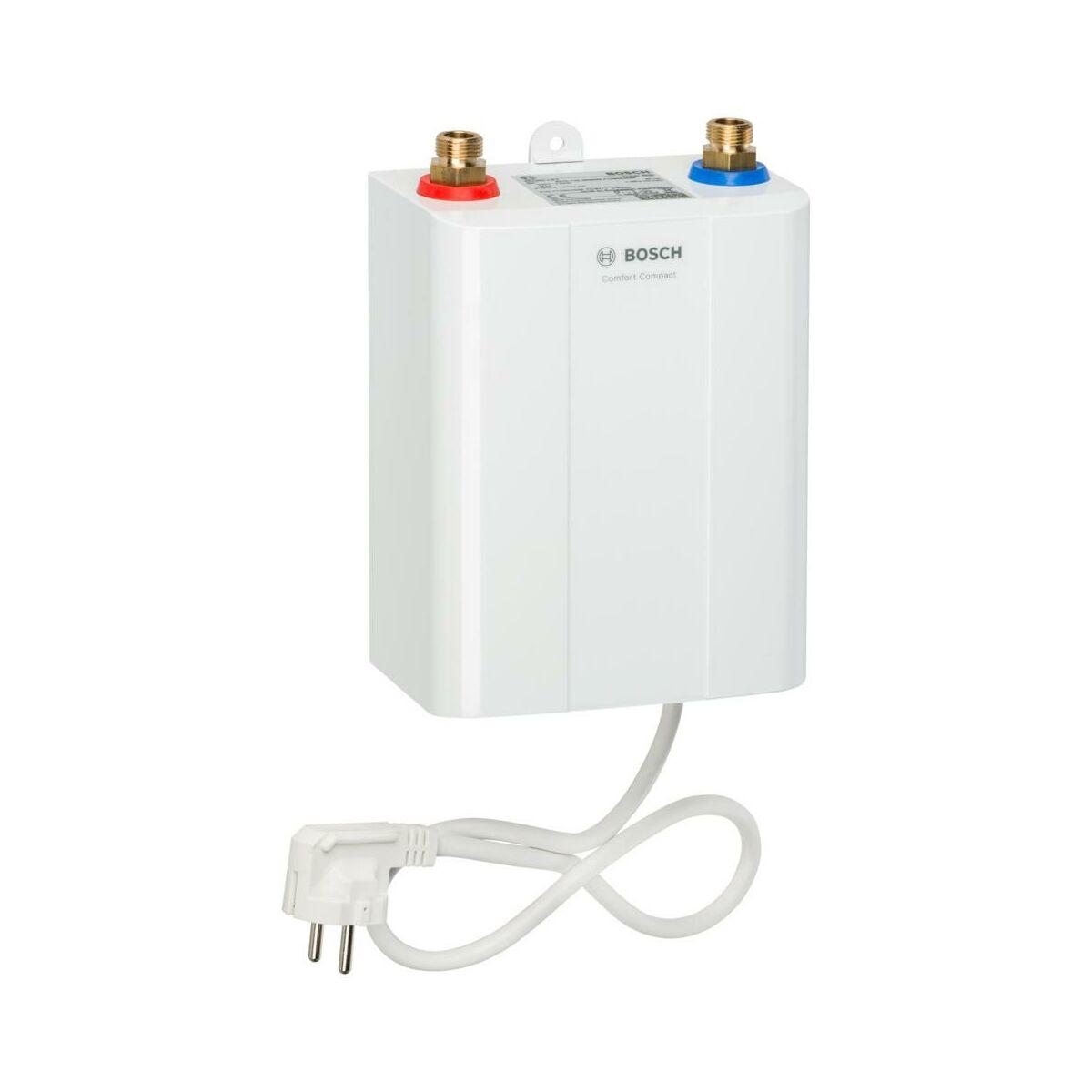 Elektryczny Przeplywowy Ogrzewacz Wody Tr4000 6 Kw Et Bosch Ogrzewacze Przeplywowe W Atrakcyjnej Cenie W Sklepach Leroy Merlin