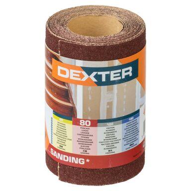Papier ścierny ROLKA PAPIER P80 93 mm x 2.5 m DEXTER