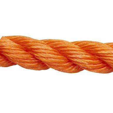 Lina polipropylenowa 200 kg 12 mm x 75 m skręcana pomarańczowa STANDERS