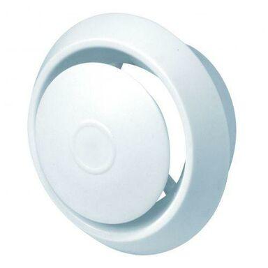 Anemostat plastikowy 150 mm biały AWENTA