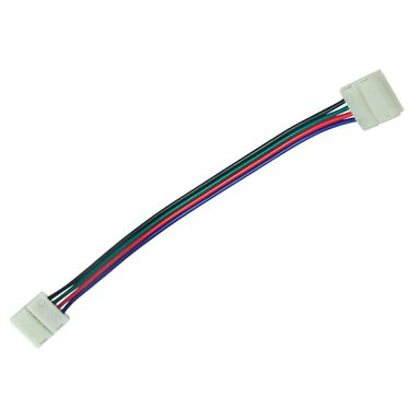 Złączka do pasków LED RBG 10 mm dwustronna przewód POLUX