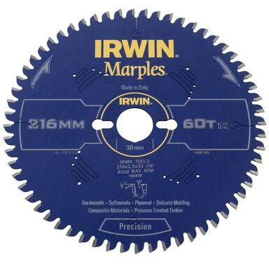 Tarcza do pilarki tarczowej 216MM/60T M/30 IRWIN MARPLES