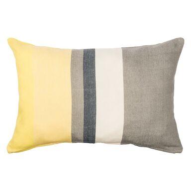 Poduszka Stripe żółta 60 X 40 Cm Inspire