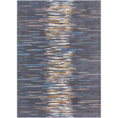 Dywan WATER granitowy 133 x 190 cm wys. runa 7 mm AGNELLA