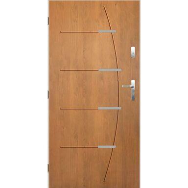 Drzwi wejściowe BORDEAUX Dąb winchester 80 Lewe PANTOR