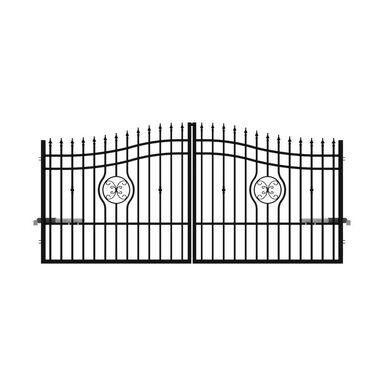 Brama dwuskrzydłowa MALAGA 350 x 160 cm POLARGOS