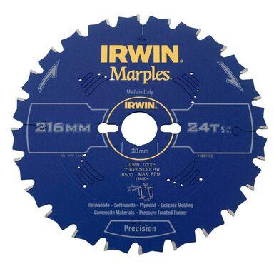 Tarcza do pilarki tarczowej 216MM/24T M/30 IRWIN MARPLES