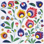 Serwetka POLISH FOLK 33 x 33 cm 20 szt.  PAW DECOR COLLECTION