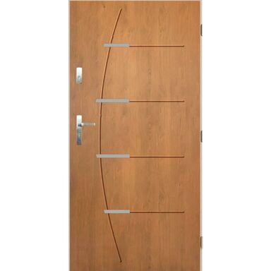 Drzwi wejściowe BORDEAUX 80 Prawe Dąb winchester PANTOR