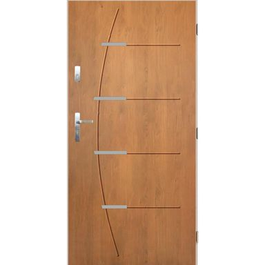Drzwi wejściowe BORDEAUX Dąb winchester 80 Prawe PANTOR