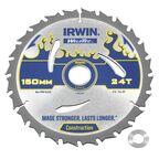 Tarcza do pilarki tarczowej 150MM/24T/20(16)  150 mm zęby: 24 szt. IRWIN WELDTEC