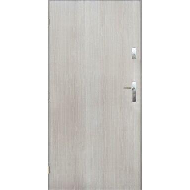 Drzwi zewnętrzne stalowe GRENOBLE Dąb sonoma 80 Lewe PANTOR