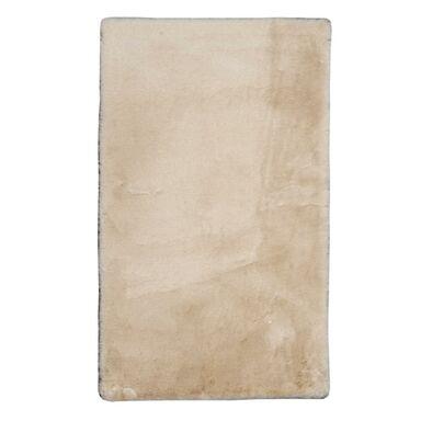 Dywan pluszowy shaggy RABBII beżowy 120 x 160 cm