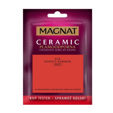 Tester farby CERAMIC 30 ml Ognisty karneol MAGNAT