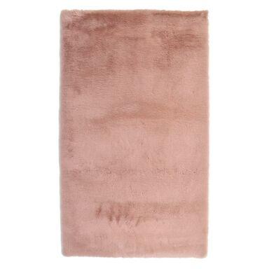 Dywan pluszowy shaggy RABBII pudrowy róż 120 x 160 cm