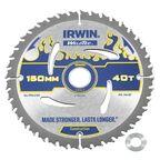 Tarcza do pilarki tarczowej 150MM/40T/20(16)  150 mm zęby: 40 szt. IRWIN WELDTEC