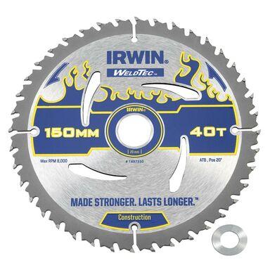 Tarcza do pilarki tarczowej 150MM/40T/20(16) śr. 150 mm  40 z IRWIN WELDTEC