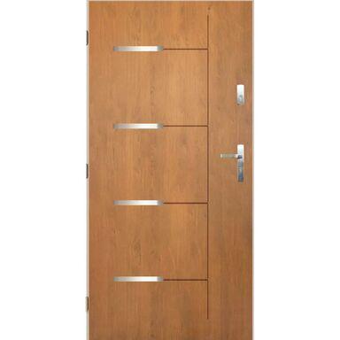 Drzwi wejściowe KRONOS 3 Dąb winchester 80 Lewe PANTOR
