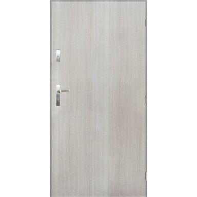 Drzwi zewnętrzne stalowe GRENOBLE Dąb sonoma 80 Prawe PANTOR