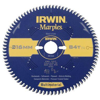 Tarcza do pilarki tarczowej 216MM/84T/30 śr. 216 mm  84 z IRWIN MARPLES MULTIMATERIAL